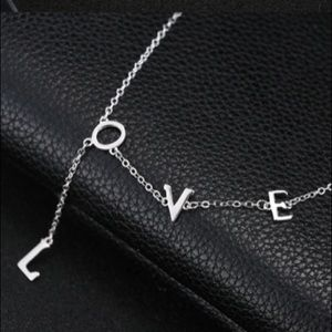 Jewelry - Love ❤️ Necklace 925 Sterling Silver